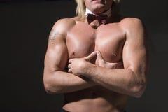 αθλητικός αρσενικός κορμός Στοκ Φωτογραφία