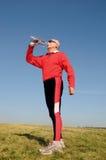 αθλητικός πρεσβύτερος ατόμων στοκ φωτογραφίες