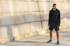 Αθλητικός αθλητικός τύπος sportswear Στοκ εικόνα με δικαίωμα ελεύθερης χρήσης