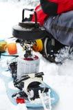 αθλητικός χειμώνας Στοκ Φωτογραφία