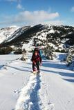 αθλητικός χειμώνας Στοκ Εικόνες