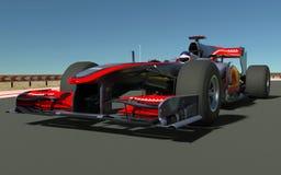 Αθλητικό αυτοκίνητο F1 στοκ εικόνα