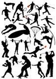 αθλητικό διάνυσμα συλλογής απεικόνιση αποθεμάτων