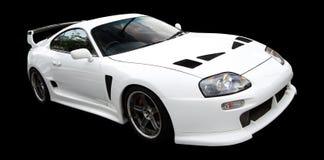 αθλητικό λευκό αυτοκινή στοκ φωτογραφίες