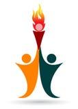 Αθλητικό λογότυπο διανυσματική απεικόνιση