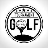Αθλητικό παιχνίδι γκολφ κλαμπ γραφικό Στοκ Φωτογραφίες