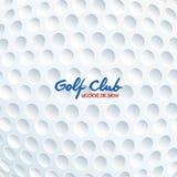 Αθλητικό παιχνίδι γκολφ κλαμπ γραφικό Στοκ Εικόνες