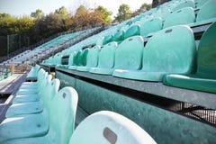 αθλητικό στάδιο σειρών εδρών Στοκ φωτογραφία με δικαίωμα ελεύθερης χρήσης