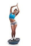 αθλητικό όμορφο κορίτσι Στοκ εικόνες με δικαίωμα ελεύθερης χρήσης