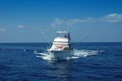 αθλητισμός αλιείας βαρκών στοκ εικόνες