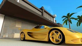 αθλητισμός αυτοκινήτων Ελεύθερη απεικόνιση δικαιώματος