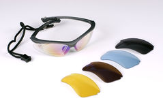 αθλητισμός γυαλιών Στοκ εικόνα με δικαίωμα ελεύθερης χρήσης