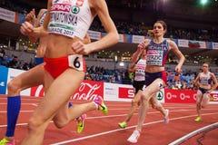 Αθλητισμός - γυναίκα 1500m, TERZIC Amela Στοκ εικόνα με δικαίωμα ελεύθερης χρήσης