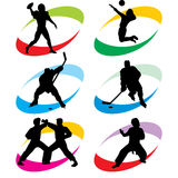 αθλητισμός εικονιδίων Στοκ εικόνες με δικαίωμα ελεύθερης χρήσης