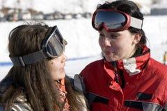 αθλητισμός κοριτσιών ενδ Στοκ Φωτογραφίες