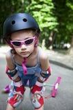 αθλητισμός κοριτσιών ιμα&ta Στοκ Εικόνες