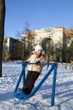 αθλητισμός κοριτσιών πο&upsilo Στοκ Φωτογραφία