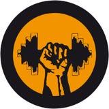 αθλητισμός λογότυπων Στοκ Εικόνες