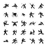 αθλητισμός λογότυπων στοκ εικόνα