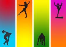 αθλητισμός μιγμάτων Απεικόνιση αποθεμάτων