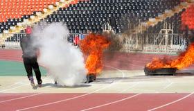 Αθλητισμός πυρκαγιάς Στοκ Φωτογραφία