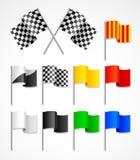 αθλητισμός σημαιών διανυσματική απεικόνιση