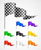 αθλητισμός σημαιών Στοκ φωτογραφία με δικαίωμα ελεύθερης χρήσης