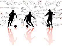 αθλητισμός σκιαγραφιών Στοκ φωτογραφία με δικαίωμα ελεύθερης χρήσης