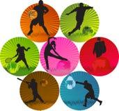 αθλητισμός απεικόνιση αποθεμάτων