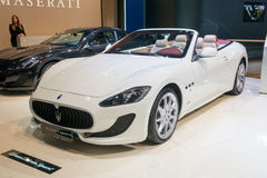 Αθλητισμός Gran Cabrio Maserati Στοκ εικόνα με δικαίωμα ελεύθερης χρήσης