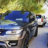 Αθλητισμός Range Rover στοκ φωτογραφίες