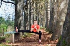 Αθλήτρια Στοκ Φωτογραφίες