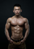 αθλητής Κορεάτης Στοκ φωτογραφία με δικαίωμα ελεύθερης χρήσης