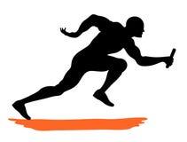 Αθλητής Στοκ Εικόνα