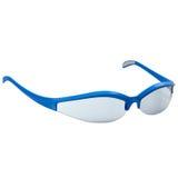 Αθλητικά γυαλιά που απομονώνονται στο άσπρο υπόβαθρο διανυσματική απεικόνιση
