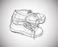 Αθλητικά παπούτσια Στοκ φωτογραφία με δικαίωμα ελεύθερης χρήσης