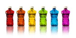 Αθλητικά ποτά μυών Στοκ φωτογραφία με δικαίωμα ελεύθερης χρήσης