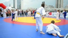Αθλητική έκθεση 2014 - αθλητικό φεστιβάλ παιδιών, Κίεβο, Ουκρανία, φιλμ μικρού μήκους