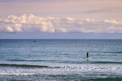 Αθλητική θάλασσα στην ηρεμία Στοκ φωτογραφίες με δικαίωμα ελεύθερης χρήσης