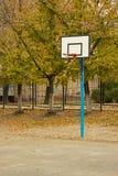 Αθλητική παιδική χαρά φθινοπώρου στοκ εικόνα με δικαίωμα ελεύθερης χρήσης