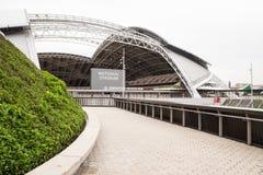 Αθλητική πλήμνη Σιγκαπούρη Στοκ φωτογραφία με δικαίωμα ελεύθερης χρήσης