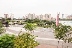Αθλητική πλήμνη Σιγκαπούρη Στοκ εικόνα με δικαίωμα ελεύθερης χρήσης