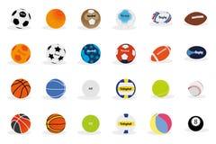 Αθλητική σφαίρα Στοκ εικόνα με δικαίωμα ελεύθερης χρήσης