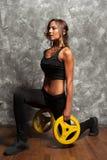 αθλητική όμορφη γυναίκα Στοκ φωτογραφία με δικαίωμα ελεύθερης χρήσης