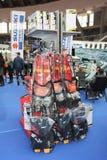 Αθλητικός εξοπλισμός νερού στη ναυτική έκθεση Βελιγραδι'ου Στοκ Εικόνα
