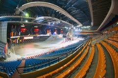 Αθλητικός σύνθετος ολυμπιακός σταδίων στοκ εικόνες
