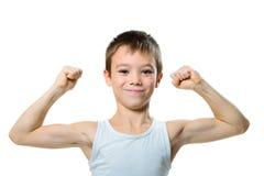 Αθλητικό αγόρι Στοκ εικόνα με δικαίωμα ελεύθερης χρήσης