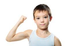 Αθλητικό αγόρι Στοκ Εικόνα