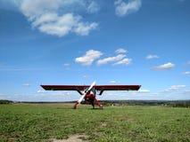 Αθλητικό αεροπλάνο Στοκ Εικόνα