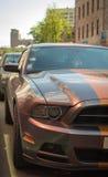 Αθλητικό αυτοκίνητο σε Ñ  ity στοκ φωτογραφίες με δικαίωμα ελεύθερης χρήσης